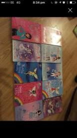Girls fairy books, ages 7-10.
