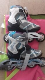 Size 3 Womans Inline Skates