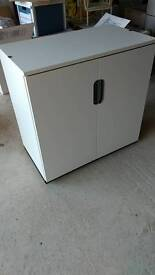 Ikea office cupboard white nearly new