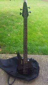 Tanglewood Bass Guitar and Amp