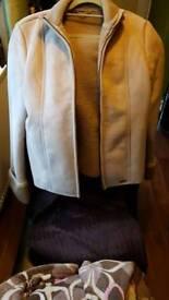 Brand new next suede jacket
