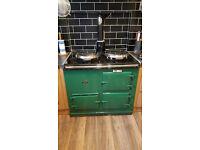 Gas Aga cooker - 2 oven