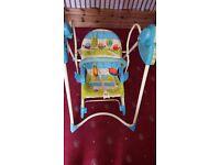 Baby swing+bouncer 2-in-1 & a walker