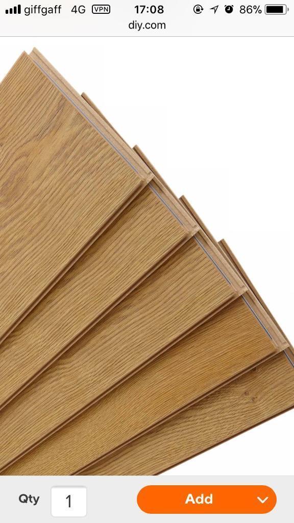 194 Packs Free Overture Milano Oak Effect Laminate Flooring In