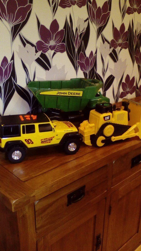 ***Collection of Toy Trucks***