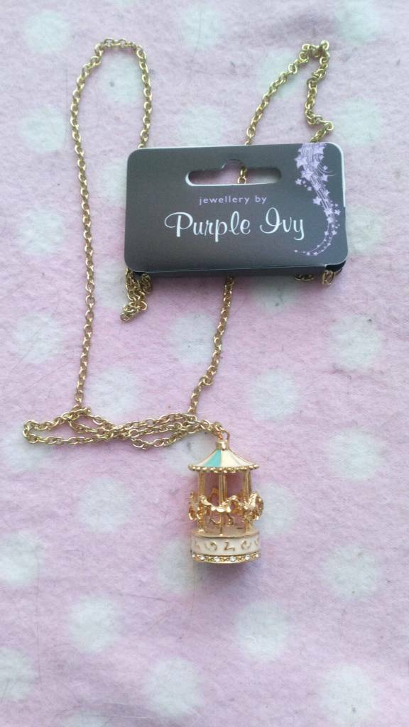 Brand new gorgeous carousel necklace | in Swansea | Gumtree