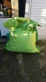 Huge Bean bag (180 x 140) for internal and external (waterproof)