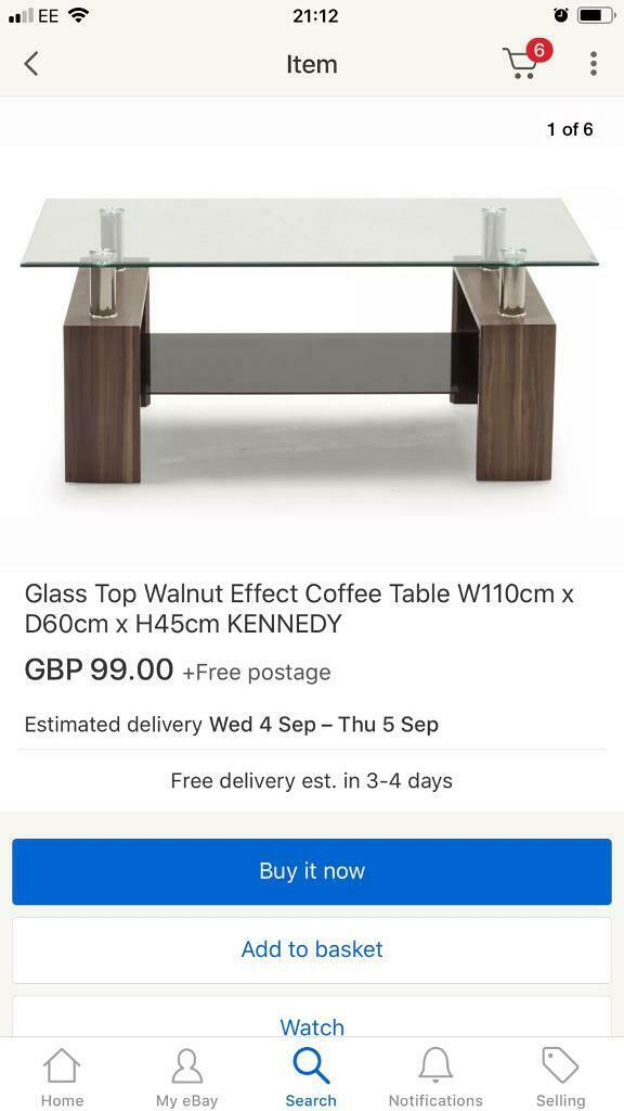 Admirable Coffee Table 2 X Matching Side Tables In Livingston West Lothian Gumtree Machost Co Dining Chair Design Ideas Machostcouk