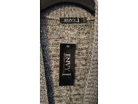 New Envy Womens Grey Cardigan Size L/XL