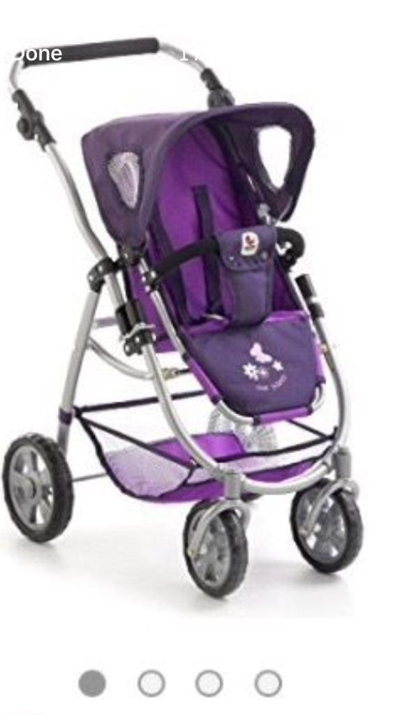 Chic 2000 3 in 1 Bayer Doll's Pushchair new in box