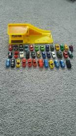 Mini micro cars and ramp