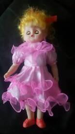 singing doll.