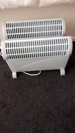 Converter heaters