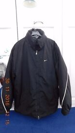 Nike Black Sports Jacket (L) (Men's)