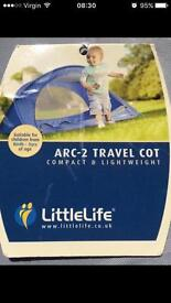 Little Life Arc-2 Travel cot ** SOLD**