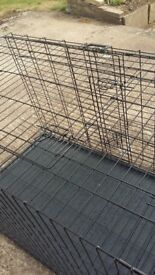 Dog crate used