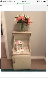 Shabby chic style cabinet small