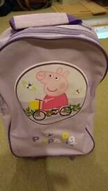 Peppa Pig trolley case