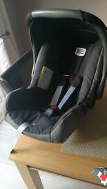 Britax Baby Safe car seat with belted mount base