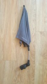 Sun umbrella parasol for pushchair
