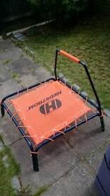Small indoor/outdoor trampoline