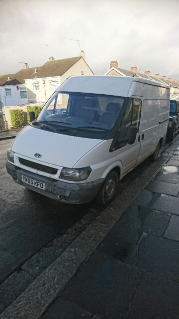 Offers please for Spares or repairs 2005 Ford transit panel van  Mot  failure 129000 miles   in Plymouth, Devon   Gumtree