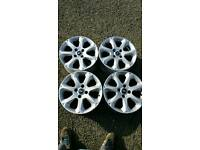 "4x 15"" Ford Fiesta alloys"