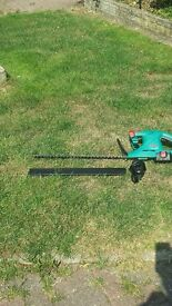 bosch electric hedge strimmer cordless