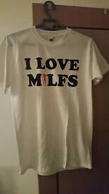 I love milfs t-shirt (Small)