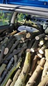 Log burner wood