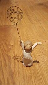 Willow tree 'Birthday Girl' figure