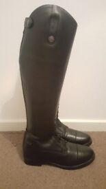 Long leather riding boots for sale