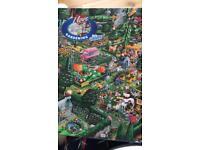 1000 piece gardening jigsaw puzzle