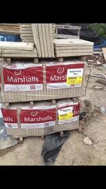 Marshall natural flag stones 450mm x450mm x35mm