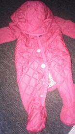 Joules snow suit Age 0-3 Month