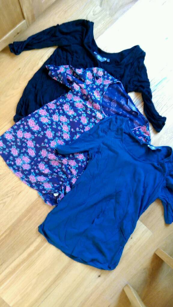 Maternity tops and swimsuit