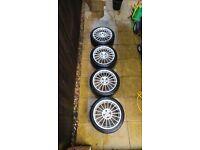 """17"""" Fox Evo 3 Alloy Wheels"""