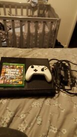Xbox one with gta and mic