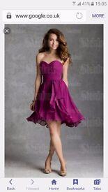Designer dress size 8 Prom dress