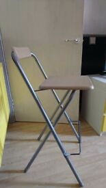 Tall folding chair good condition