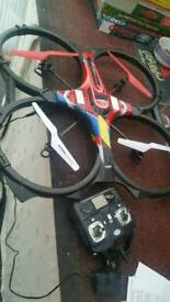 4 fan copter..remote.drone style.full working order...large,