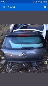 vw polo tailgate mk8 2015 grey complete