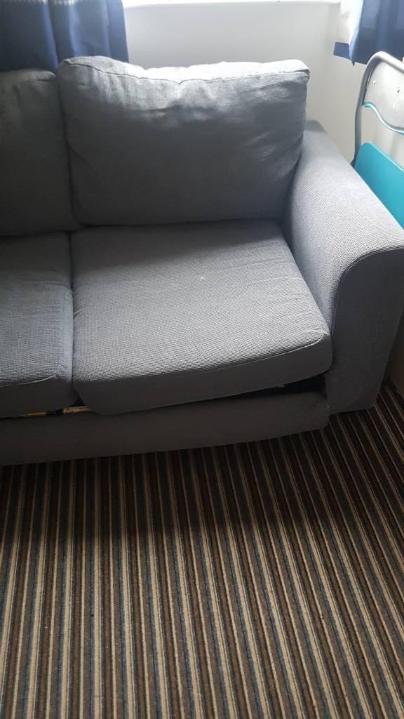 FREE Light blue cloth sofa bed