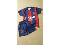 Boys Football Clothing Set Sportswear 8-9 years Shorts T-shirt