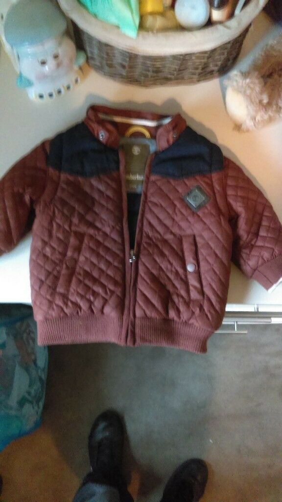 Timberland Baby Jacket with Hood