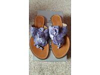New Jane Shilton ladies leather sandals Size 5