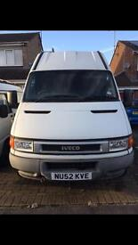 Iveco Daily MWB HiTop Van, 12 months MOT £1000's spent, jets exhaust breaks all done