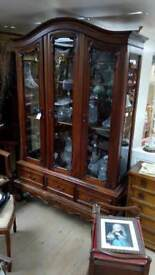 Antique french display unit