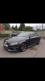 Audi A4 2008 S Line Auto Paddle Shift Black Edition