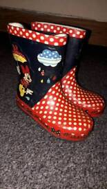 Children boots mini mouse and roary